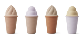 Liewood - Bay ice cream toy 4-pack - Rose multi mix