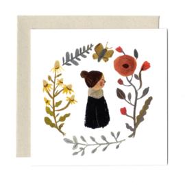 Gemma Koomen 'RENEWALD' greeting card