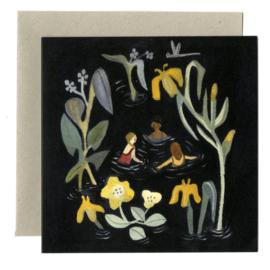 Gemma Koomen 'THE POOL' greeting card