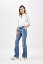 BY BAR  leila pant nrx - light denim