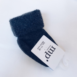 MP Denmark - Terry wool baby socks - Zwart