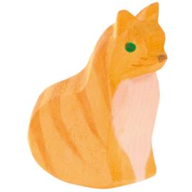 Ostheimer kat zittend