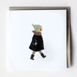 Gemma Koomen 'A Little Walk' greeting card