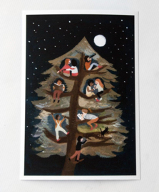 Gemma Koomen 'Friends in a Tree' greeting card