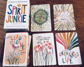 PRE ORDER - Spirit Junkie Card Deck - Based on the New York Times bestselling book