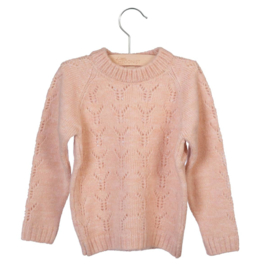 Little Hedonist - Knitted Sweater Lesha - Cameo Rose