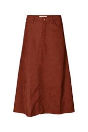 Lolly's laundry melina skirt rust