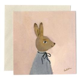 Gemma Koomen 'HARE IN SPRING' greeting card