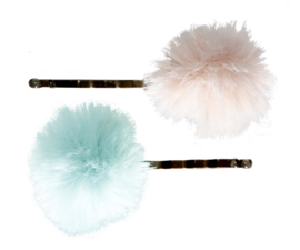 Maileg 2 PCS, BOBBY PIN POWDER/MINT