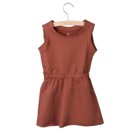 Little Hedonist - Sleeveless Dress Judy - Auburn