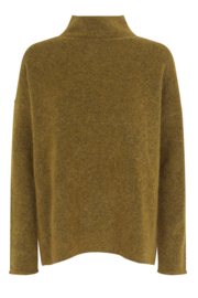 Second Female - Brook Knit T-Neck - Dried Tobacco