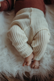 Joha pants heavy wool natural white