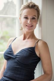 Joha chemise women navy Emily