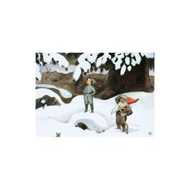 Elsa Beskow kaart Zon Ei Elf