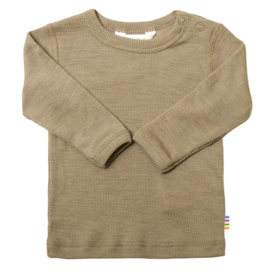 Joha - Blouse with long sleeves - Beige melange