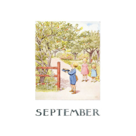 Elsa Beskow kaart September