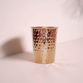 Forrest & Love copper glass hammered