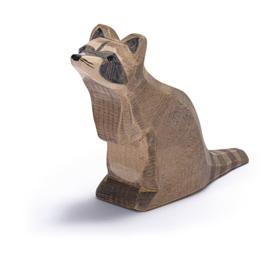 Ostheimer wasbeer zittend