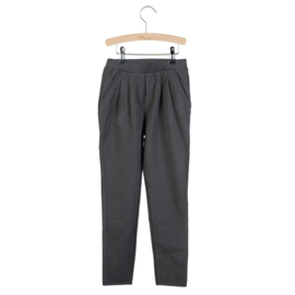 Little Hedonist pleated trousers Kobus Pirate Black