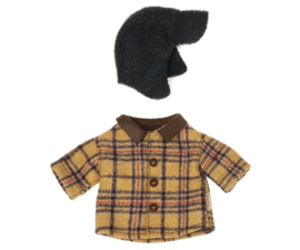 Maileg- woodsman jacket and hat for teddy dad