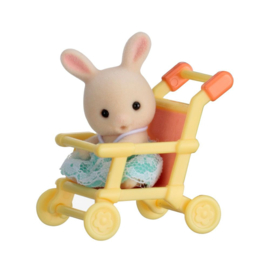 Sylvanian Families Baby Carry Case Rabbit in Stroller