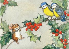 Molly Brett kaart 'On a Holy Tree Branch'
