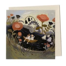 Gemma Koomen 'GENTLY UP THE STREAM' greeting card