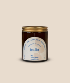 The Very Good Candle Amber Glass Jar 170ml - Indio