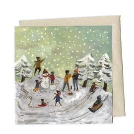 Gemma Koomen 'Snow Day' greeting card