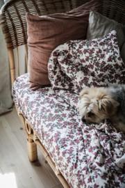 Garbo&Friends Cherrie Blossom Filled Blanket 90x120cm