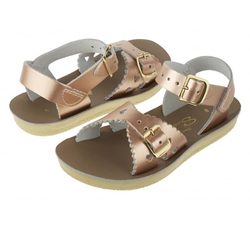 Salt-Water Sandals Sweetheart Rose Gold (Kids)