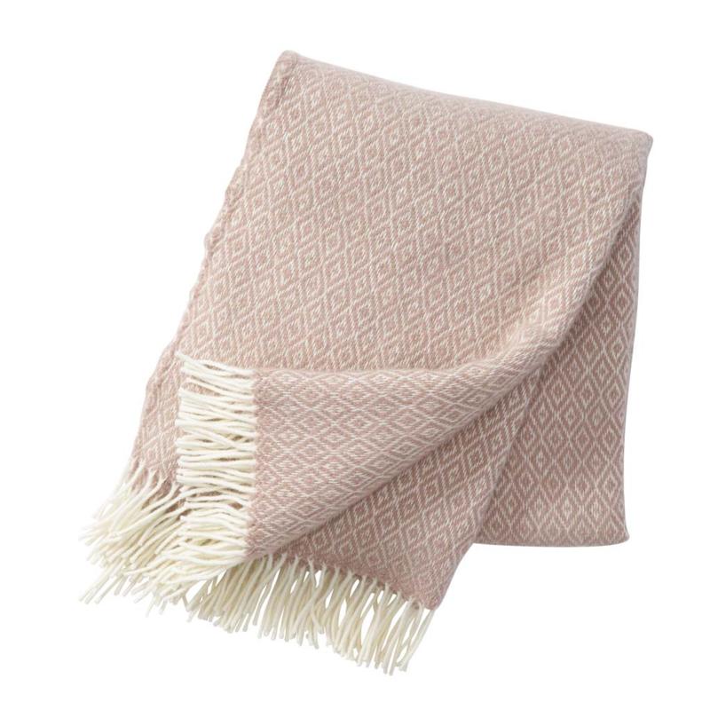 Klippan Stella Woven Wool Throw Nude