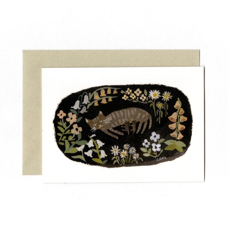 Gemma Koomen 'Mamma Kitty ' greeting card