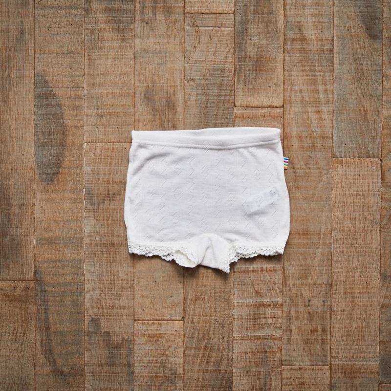 Joha wol zijde onderbroekje wit