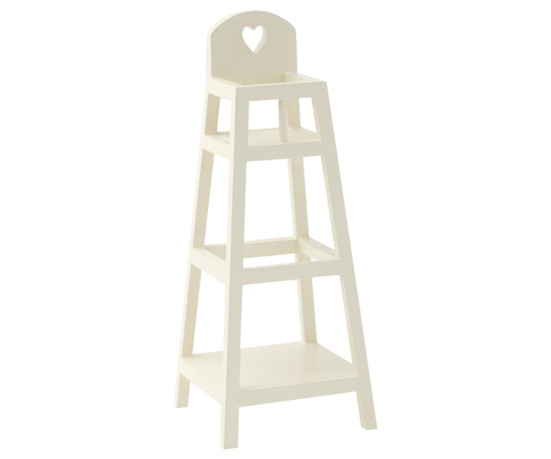 Maileg High Chair MY White