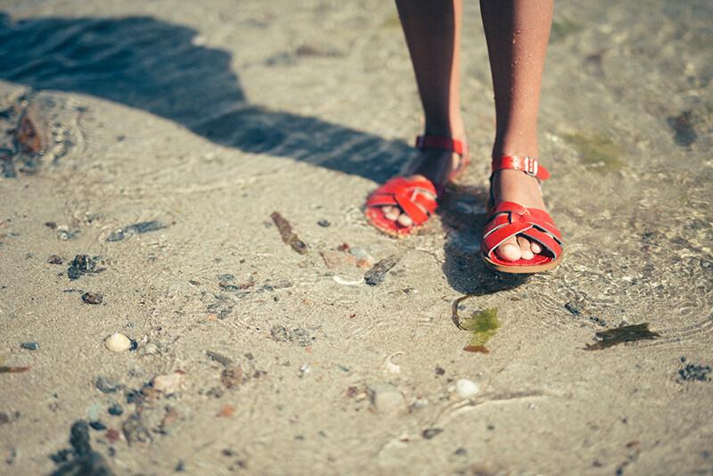 Salt-Water Sandals Original Red (Kids)
