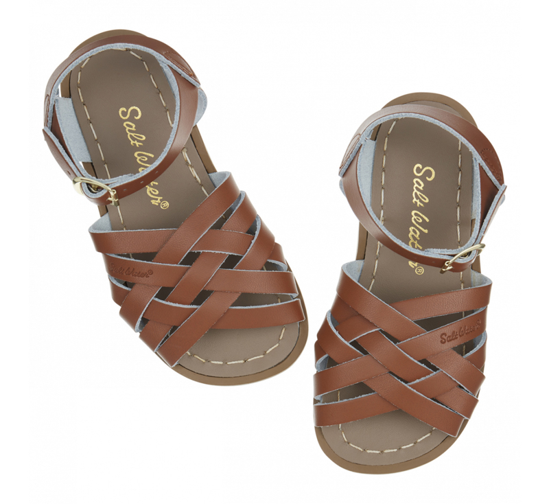 Salt-Water Sandals Retro Tan (Kids)