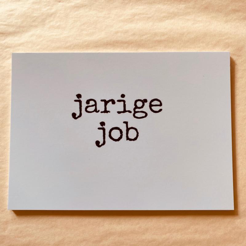 Kaart jarige job