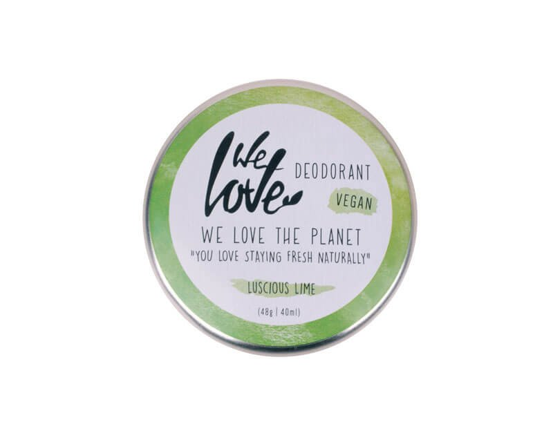 We Love The Planet Natuurlijke deodorant Luscious Lime (vegan)