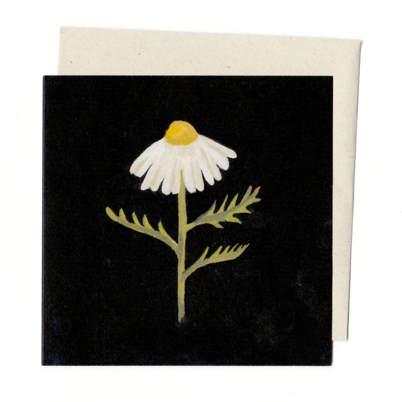 Gemma Koomen 'CHAMOMILE' greeting card