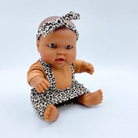 Mini Afrikaans meisje (21cm)