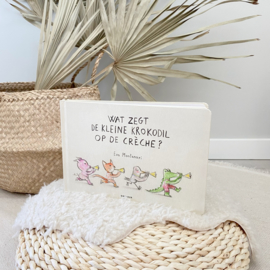 Luxe Prentenboek - Wat zegt de kleine krokodil op de crèche?