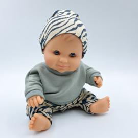 Mini blank jongentje (21cm)