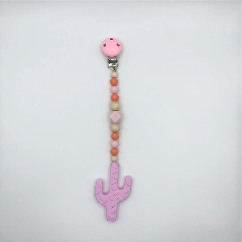 Bijtkoord cactus pink