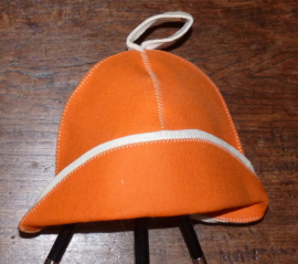 Saunahat visser Oranje