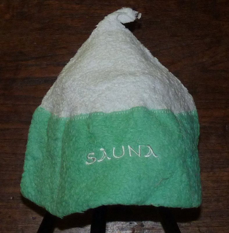 Katoenen saunamuts