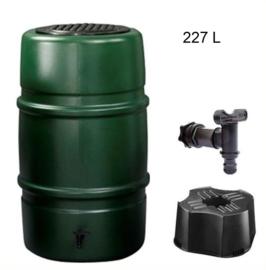 Regenton 227 L Grijs of Groen