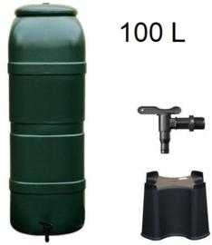 Regenton 100 L Groen of Grijs