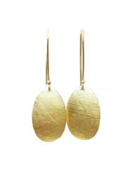 oorbellen in 18kt geel goud, ook mogelijk in roze goud of zilver