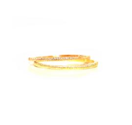 fijn ringetje in 18kt geel of roze goud